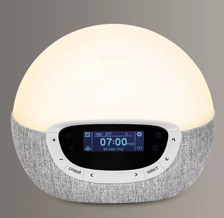 Lumie sleep lamp